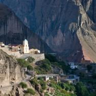 Iruya (die woord beteken 'weggesteek'), Andes gebergtes, Argentinië